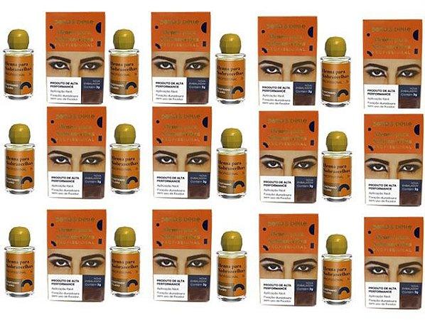 Kit 12 Hennas Della Delle Cores a Escolher