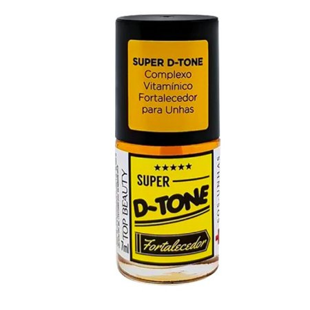 Base Fortalecedora Super D-Tone Sos Unhas 7ml - 3 Unidades