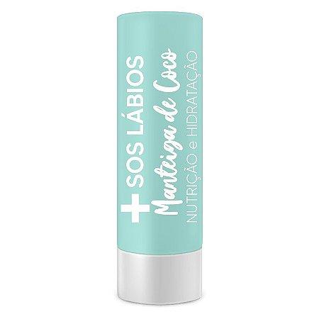 SOS labios manteiga de coco Top Beauty caixa com 6