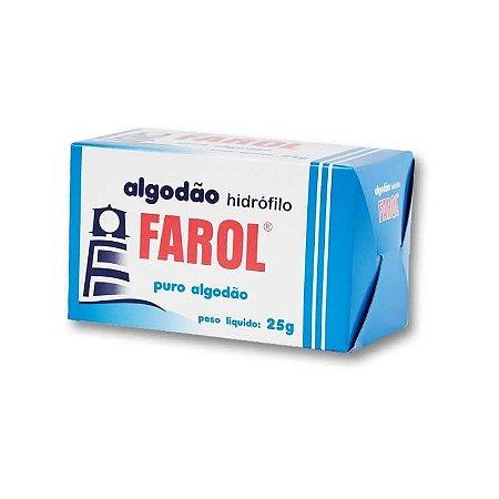Algodão Farol Caixa 25g - 3 unidades