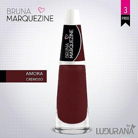 Esmalte Bruna Marquezine Cremoso Amora - Caixa com 6 unidades