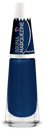 Esmalte Bruna Marquezine Degradê Blue - Caixa com 6 unidades