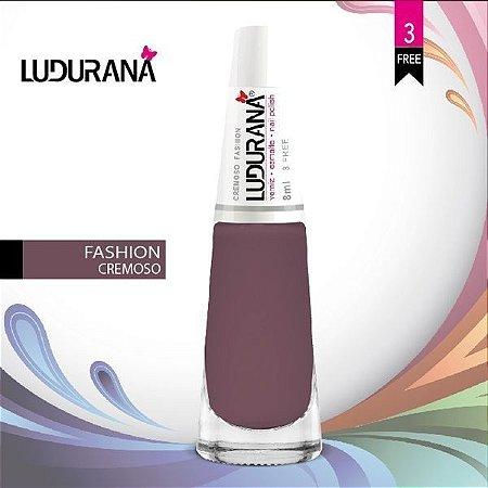 Esmalte ludurana 3 free Cremoso CR Fashion - Caixa com 6 unidades