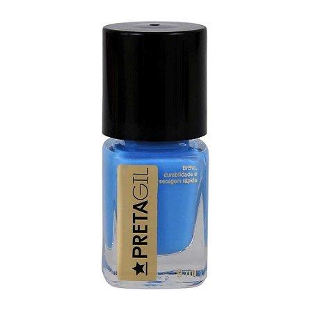 Esmalte Preta Gil Verão Azul Ipanema - Caixa com 6 unidades