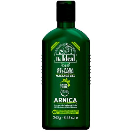 Ideal Gel para Massagem Muscular Arnica 240ml - 3 unidades