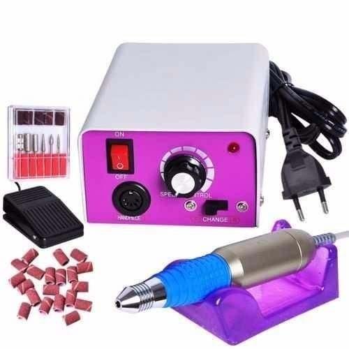 Lixa Elétrica Para Unhas, Gel E Acrigel