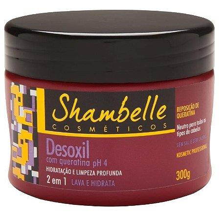 Shambelle Desoxil 2 em 1 Queratina 300g - Caixa com 3 unidades