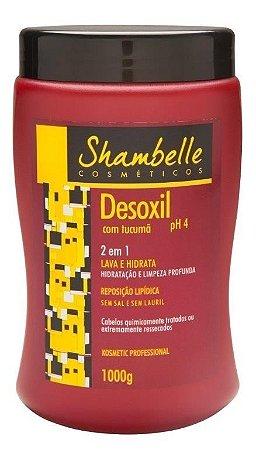 Shambelle Desoxil 2 em 1 Tucumã 1000g - Caixa com 3 unidades