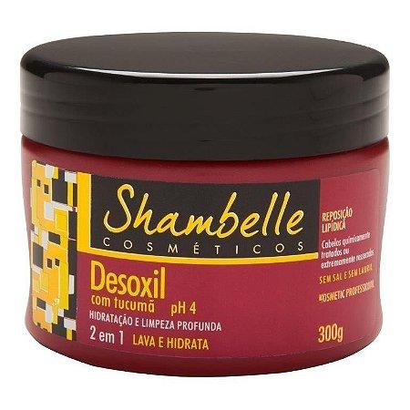 Shambelle Desoxil 2 em 1 Tucumã 300g - 3 unidades