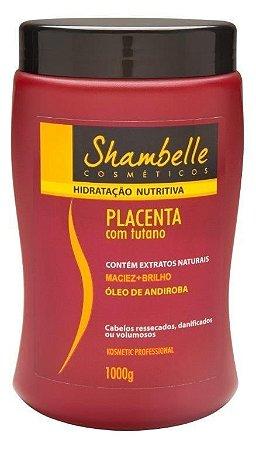 Shambelle Hidratação Nutritiva Placenta com Tutano 1kg - 3 Unidades