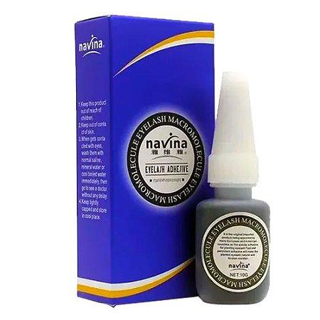 Cola Preta Forte para Extensão de Cílios Navina 10g - 3 Unidades