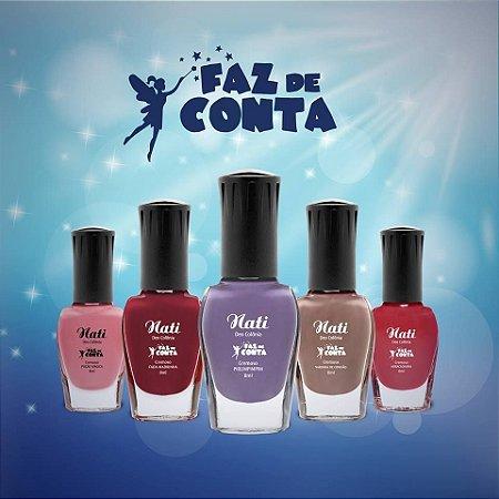 kit Nati Coleção Faz de Conta - Caixa com 12 unidades de cada