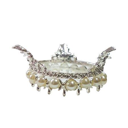 Kit com 3 Suporte P/ Pedra Diamante Coroa Porta Pincel Apoio Decoração