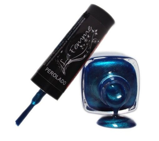 Esmalte LaFemme - Lazuli - 9ml - Perolado - Caixa com 6 unidades