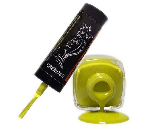 Esmalte LaFemme - Pikachu - 9ml - Cremoso - Caixa com 6 unidades