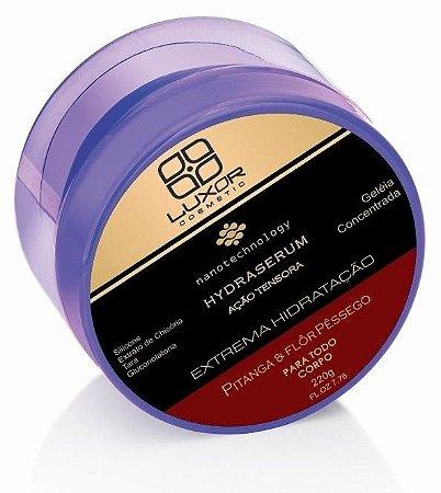 Geleia Concentrada Hydraserum 220g - Ação Tensora - Pitanga & Flôr de Pêssego - Caixa com 6