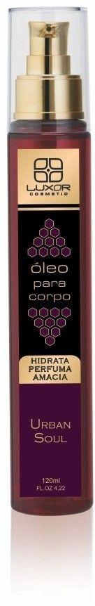 Oleo Corporal 120ml - Urban Soul - Caixa com 6
