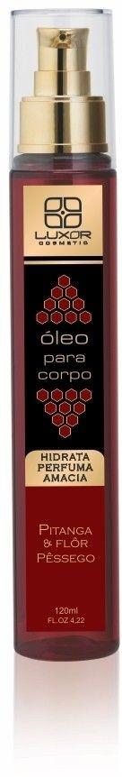 Oleo Corporal 120ml - Pitanga & Flôr de Pêssego - Caixa com 6