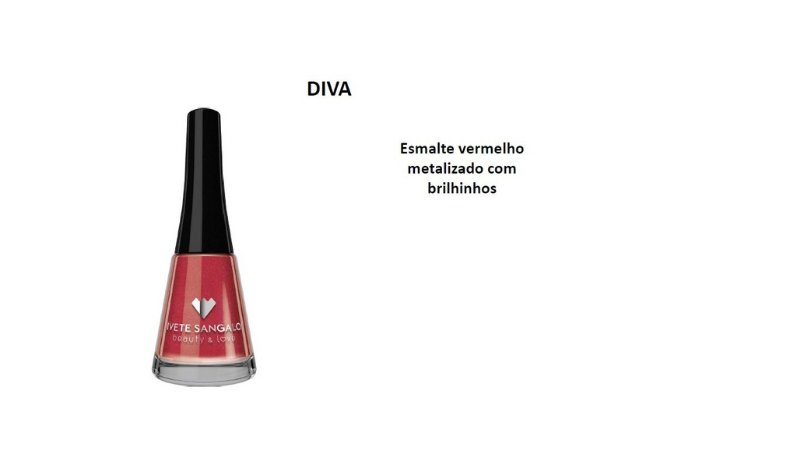 Esmalte Ivete Sangalo Diva Caixa com 6