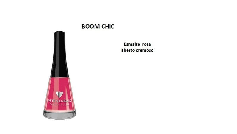 Esmalte Ivete Sangalo Boom Chic Caixa com 6