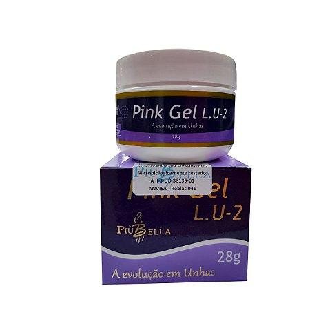 Pink Gel Lu2 - Più Bella Tradicional 28gr - 3 Unidades
