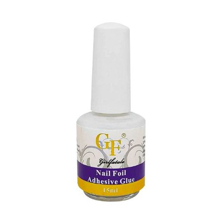 Cola Para Foil Girl Fatale Nail Foil Adhesive Glue 15ml - 3 Unidades