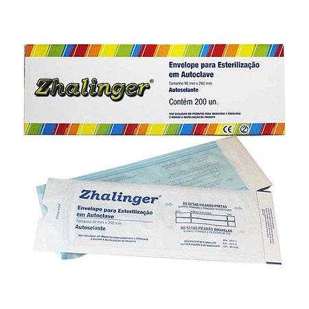 Envelope Para Esterilização Em Autoclave Czh Zhalinger 200un Manicure Podologia - 3 Unidades
