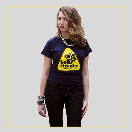 Camiseta Atenção Guarda Perigosa