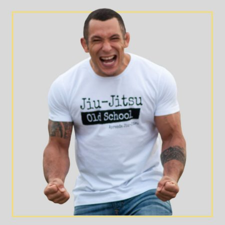 Camiseta Jiu-Jitsu Old School