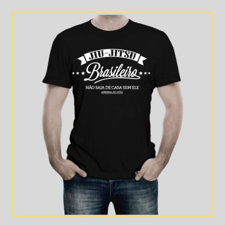 Camiseta Jiu-Jitsu Brasileiro