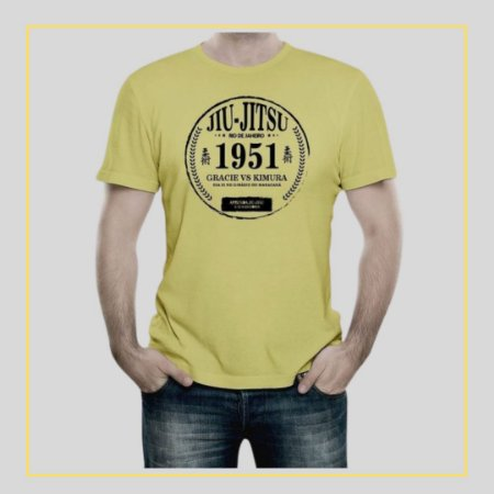 Camiseta Jiu-Jitsu 1951 Gracie vs Kimura