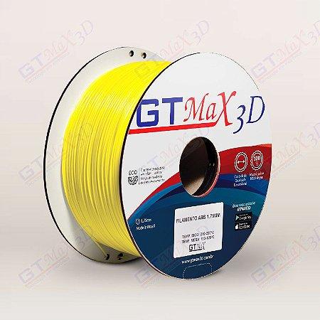 Filamento ABS Premium MG94 1.75mm GTMax3D - Amarelo