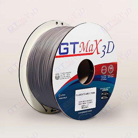 Filamento ABS Premium MG94 1.75mm GTMax3D - Prata