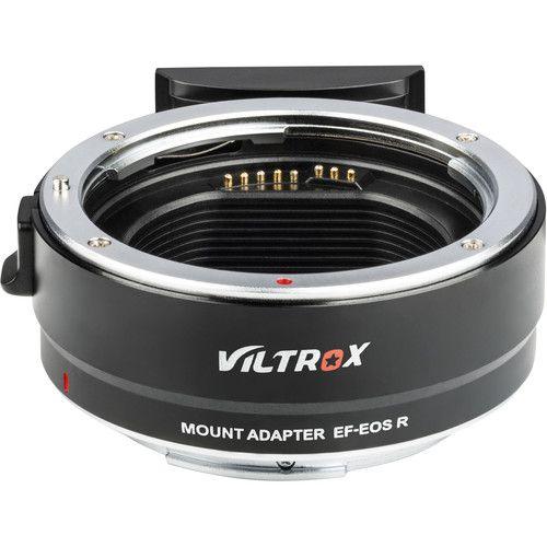 Adaptador VILTROX Mount Adapter EF-EOS R para Lentes Canon EF / EF-S