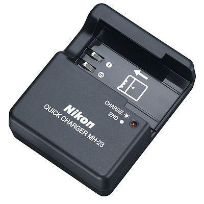 Carregador Nikon MH-23 para Bateria Nikon EN-EL9a / EN-EL9 câmeras Nikon D40 / D40X / D60 / D3000 / D5000