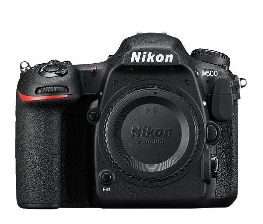 Câmera Nikon D500 Apenas o Corpo