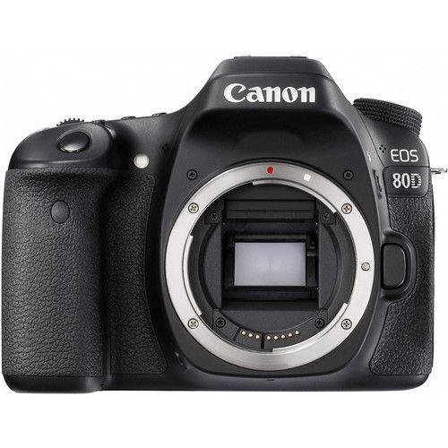 Câmera Canon EOS 80D Kit com Lente Canon EF-S 18-55mm f/4-5.6 IS STM