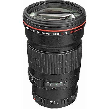 Lente Canon EF 200MM F/2.8L II USM