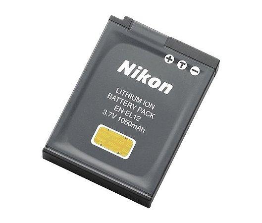 Bateria Nikon EN-EL12 para Câmera Nikon COOLPIX A1000 / S31 / AW100 / P310 / S9900