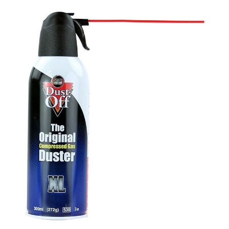 Spray de Ar Comprimido para Limpeza Dust Off XL 300 ml
