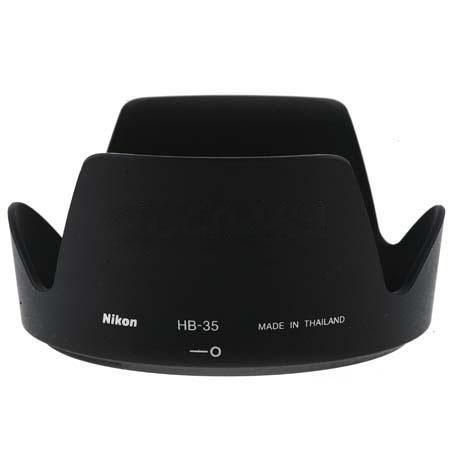 Parasol Nikon HB-35 para Lente Nikon AF-S DX NIKKOR 18-200mm f/3.5-5.6G ED VR II