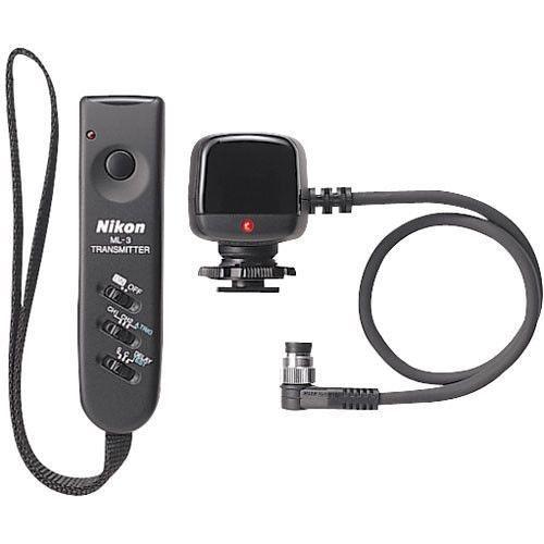 Controle remoto Modulite compacto Nikon ML-3 para câmeras Nikon D3 / D4 / D5 / D500 / D810