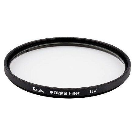 Filtro 58mm proteção UV diâmetro de 58mm Kenko Digital Filter