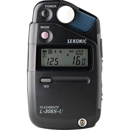 Fotômetro Medidor de Luz SEKONIC L-308S-U FLASHMATE
