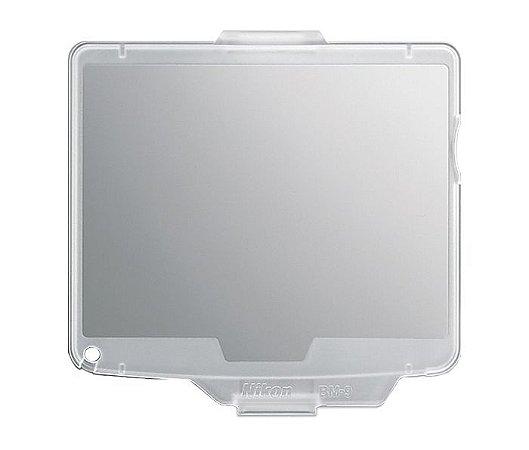 Capa protetora Nikon BM-9 LCD Monitor Cover para Câmera D700