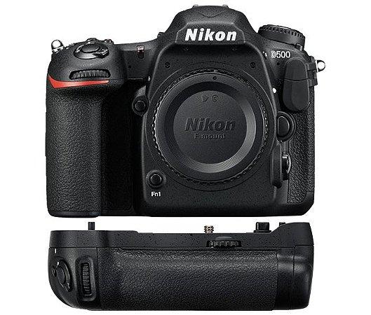 Câmera Nikon D500 Corpo + Multi Power Battery Pack MB-D17