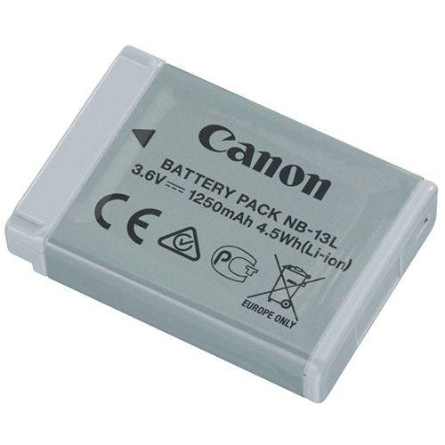 Bateria recarregável Canon modelo NB-13L para câmeras Canon PowerShot G7 X Mark II