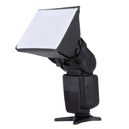 Softbox Mini 23x23cm PK-EFS23 para Flash Speedlight