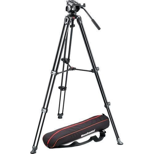 Tripé Manfrotto MVT502AM com cabeça de vídeo MVH500A e Bolsa - kit MVK500AM
