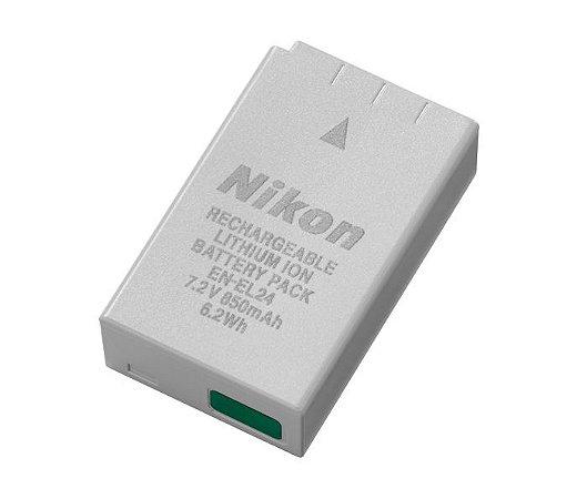 Bateria recarregável Nikon EN-EL24 para câmera Nikon 1 J5